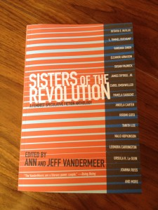 My contributor's copy of Sisters of the Revolution