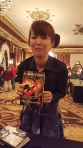 "Nebula award-winning author Alyssa Wong cries after reading M.Sereno's ""Only Revolutions"" in An Alphabet of Embers"