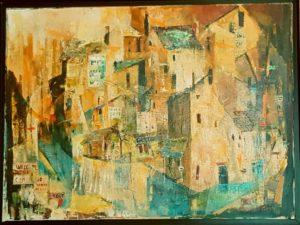 Drucilla Gault. Cityscape. 1973.